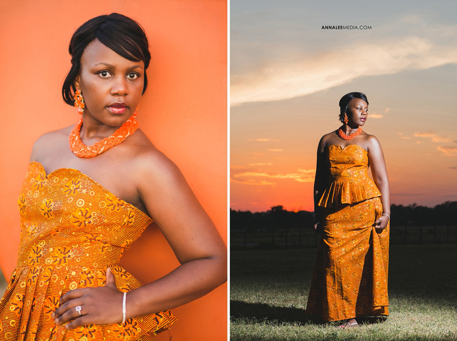 Nkanga-Nsa-bridal-shoot-okc-Wambi-orange-African-wedding-dress