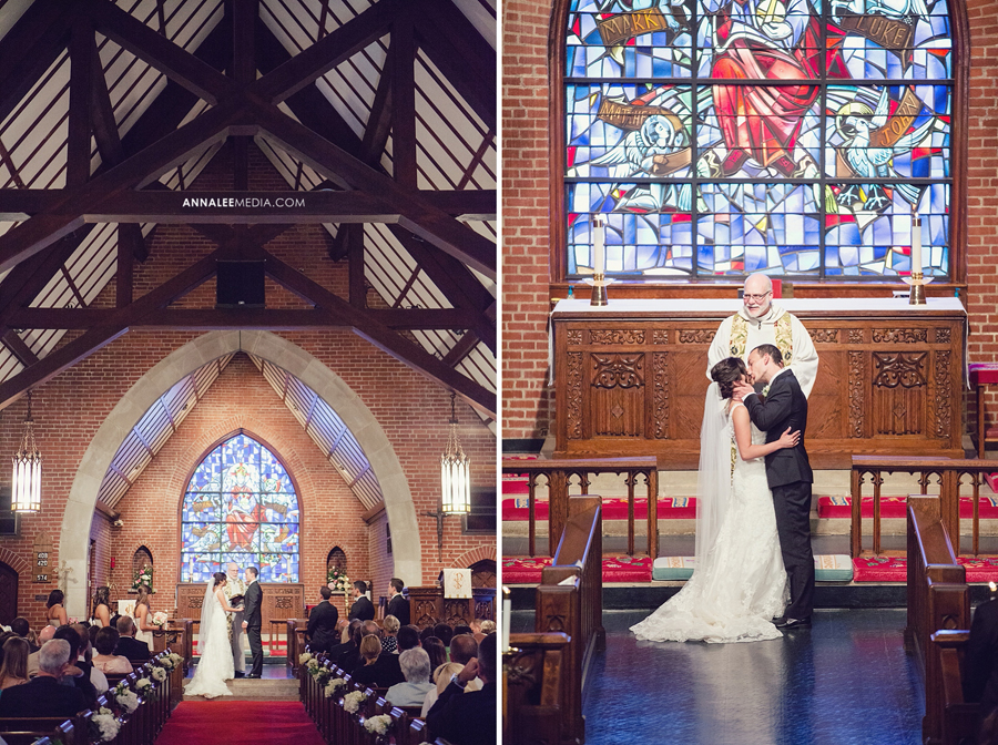 13-norman-oklahoma-wedding-photographer-lauren-buchanan-ryan-elassal-summer-2013-st-johns-episcopal-church-ceremony-kiss