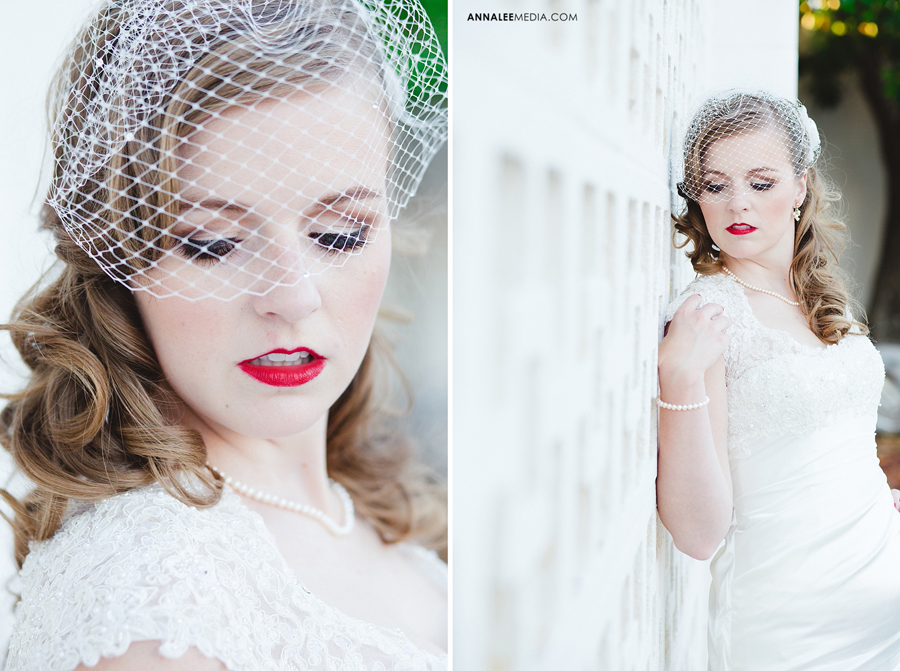 kasey-steffen-boes-bridal-session-downtown-guthrie-wedding-dress-birdcage-veil-retro-vintage-1