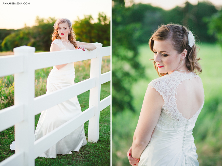 kasey-steffen-boes-bridal-session-downtown-guthrie-wedding-dress-birdcage-veil-retro-vintage-field-1
