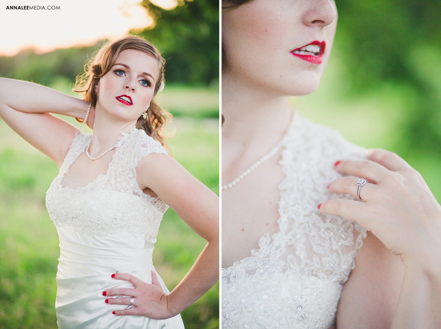 kasey-steffen-boes-bridal-session-downtown-guthrie-wedding-dress-birdcage-veil-retro-vintage-field-2