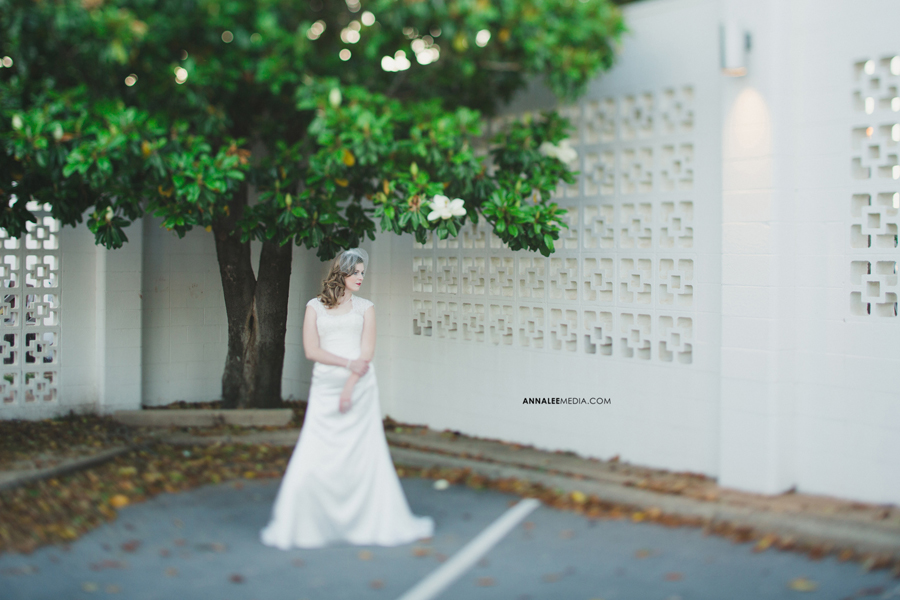 kasey-steffen-boes-bridal-session-downtown-guthrie-wedding-dress-birdcage-veil-retro-vintage-tilt-shift-1
