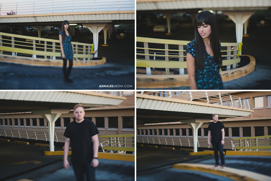 19-oklahoma-engagement-wedding-photographer-alexa-dumas-brandon-land-modern-quirky-hipster-stylish-okc-ok-couple-pose-parking-garage