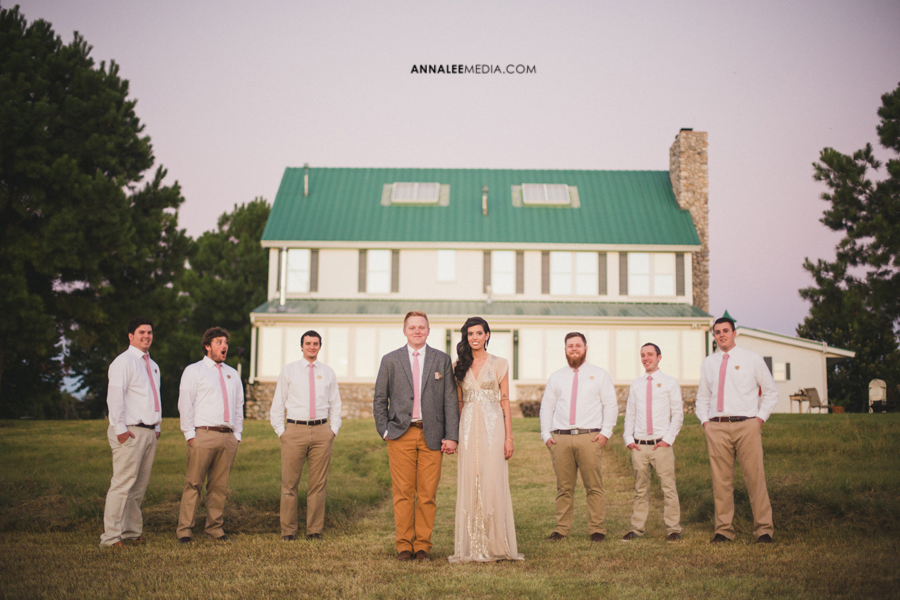 Hipster Backyard Wedding : ALEXA & BRANDON  Modern Backyard Summer Wedding  Crescent, OK  Anna