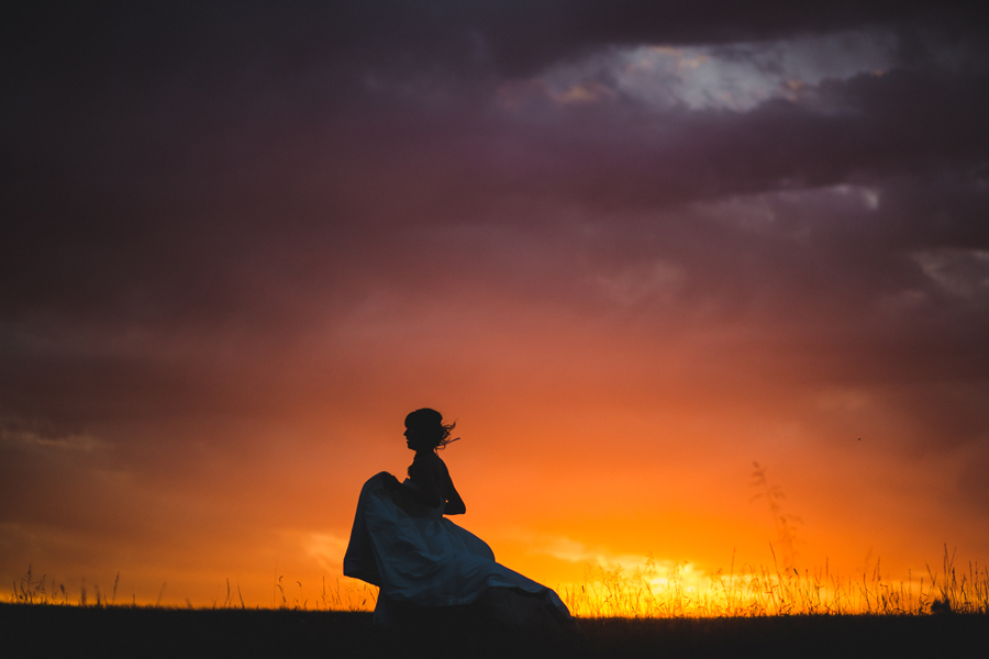 7-okc-edmond-wedding-bridal-photographer-run-through-field-sunset-fantasy