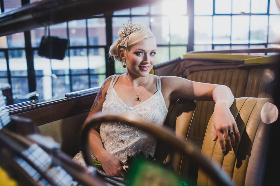 5-the-caliber-okc-wedding-photographer-bridal-portraits-jessie-campbell-great-gatsby-theme-car