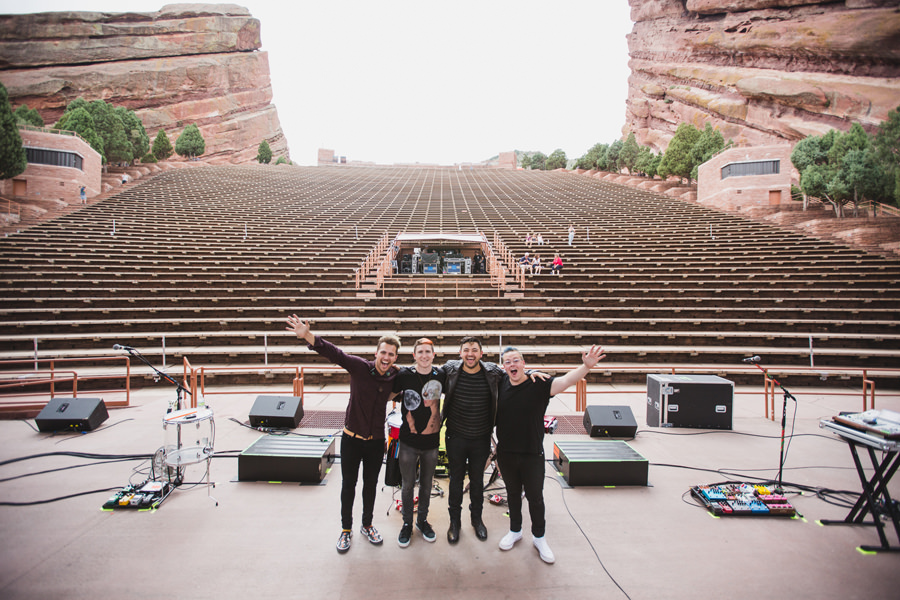 88-walk-the-moon-wtm-tih-tour-red-rocks-CO-sound-check-band