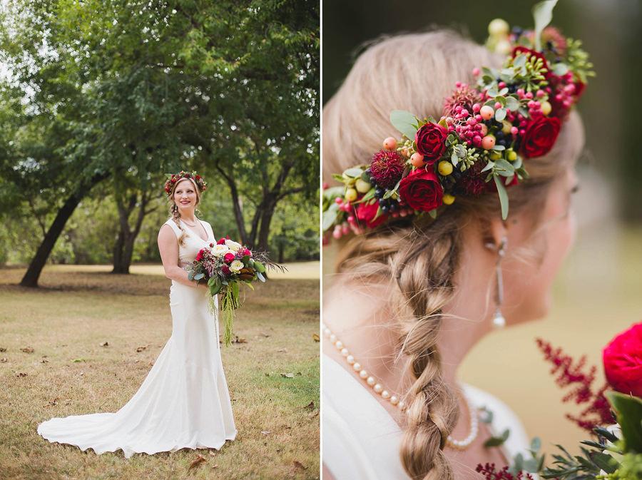 20-harn-homestead-okc-wedding-photographer-bride-flower-crown-fall-bridal-huge-bouquet-los-angeles