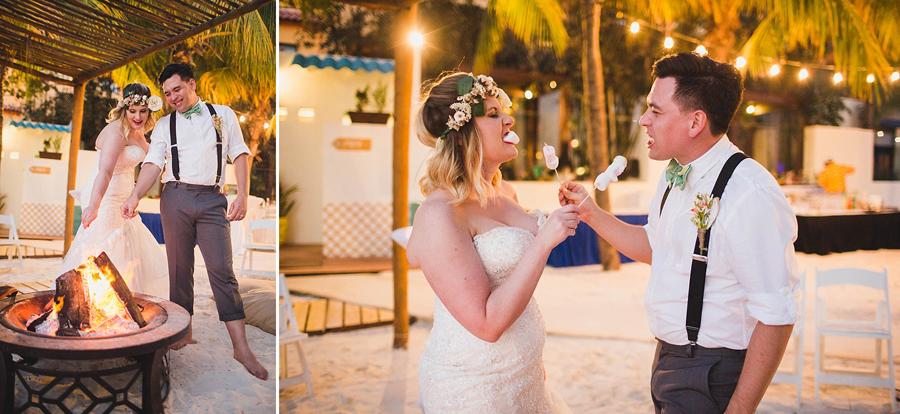 32-dream-sands-resort-destination-wedding-photographer-cancun-bonfire-smores