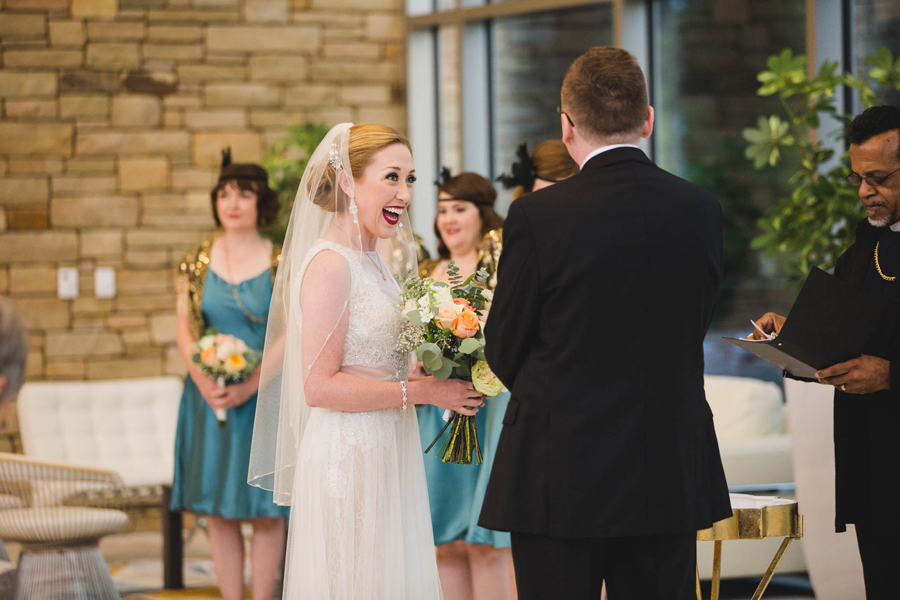 tulsa-oklahoma-wedding-photographer-gilcrease-museum-venue-steve-cluck-joy-jones-13-lobby-ceremony-rain-first-look