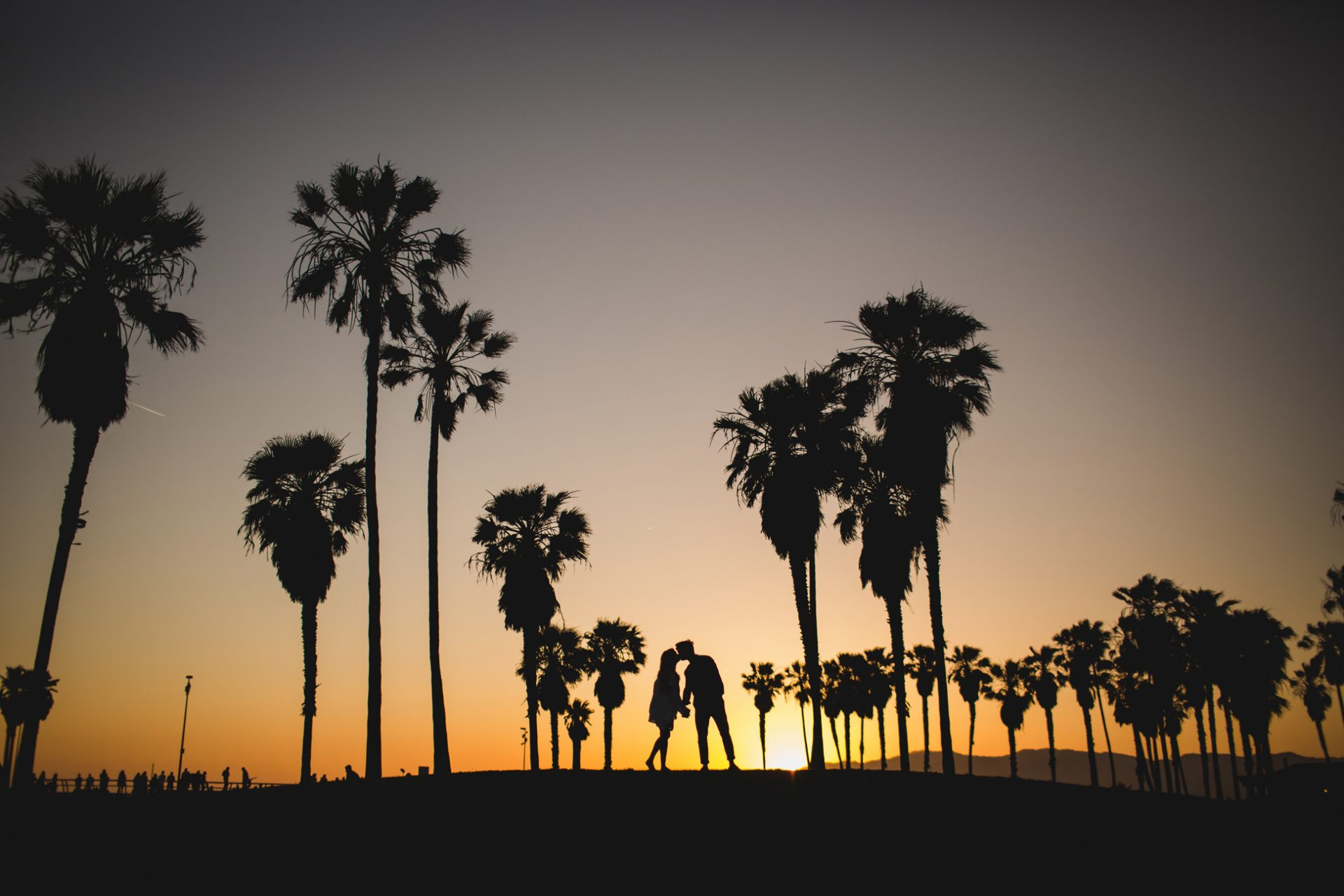 best-top-los-angeles-oklahoma-destination-engagement-photographer-hipster-modern-quirky-editorial-romantic-epic-3-sunset-palm-trees-silhouette