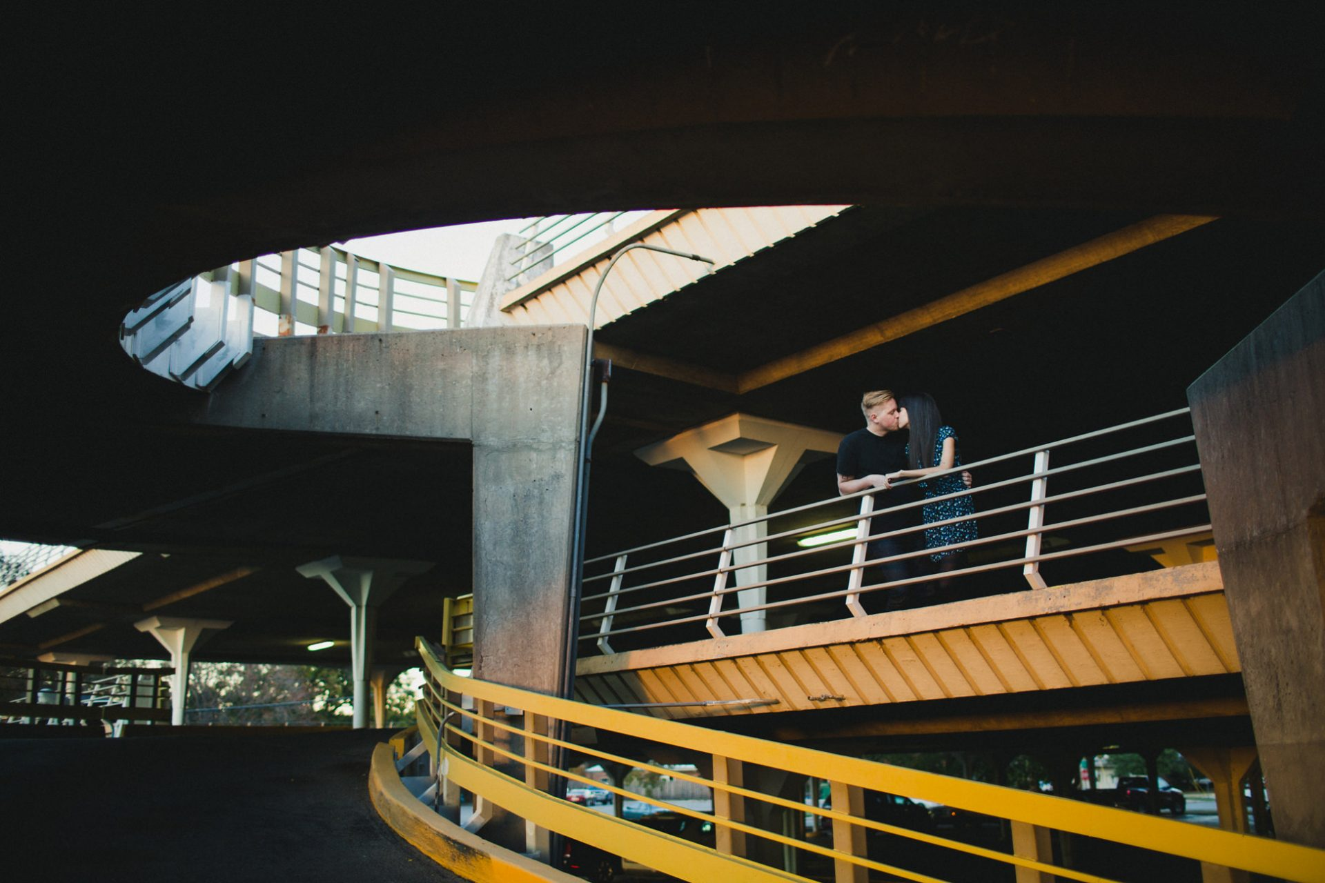 best-top-los-angeles-oklahoma-destination-engagement-photographer-hipster-modern-quirky-editorial-romantic-epic-9-parking-garage