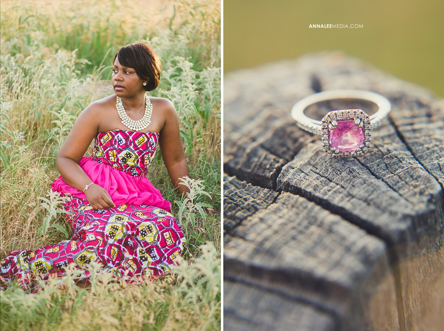 Nkanga-Nsa-Wambi-African-wedding-dress-pink-engagement-ring-bridal-shoot-okc