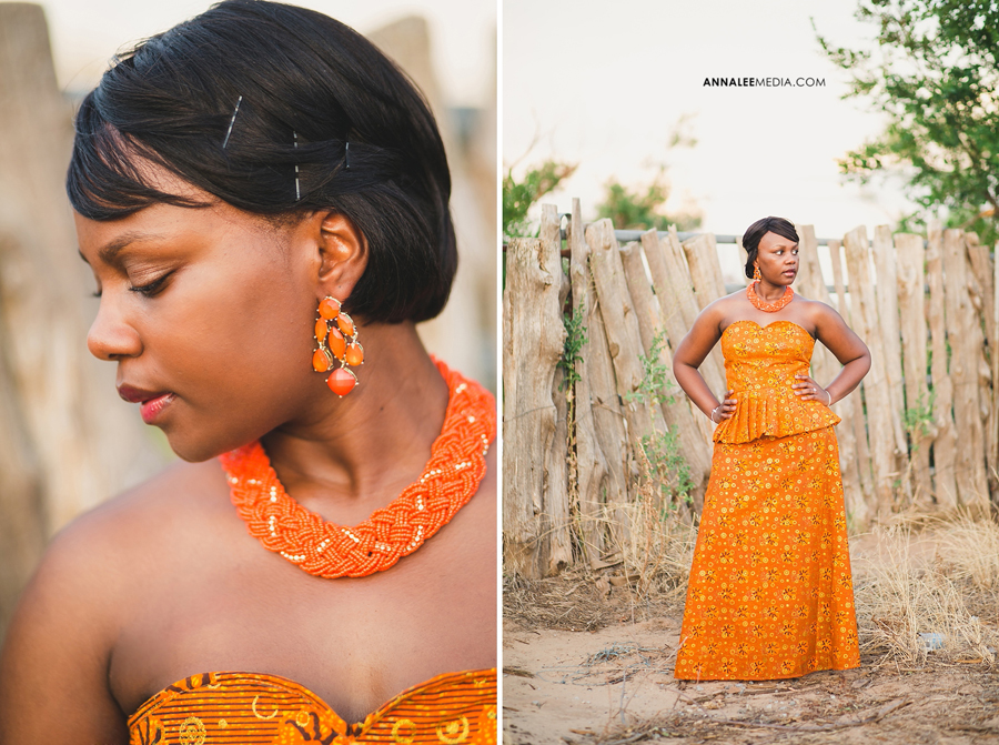 Nkanga-Nsa-Wambi-orange-African-wedding-dress-bridal-shoot-okc