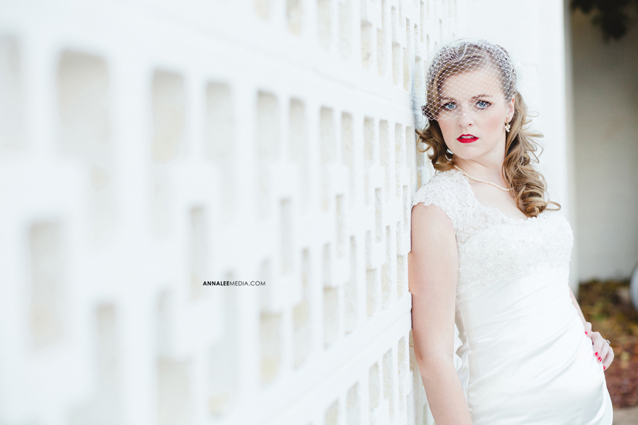 kasey-steffen-boes-bridal-session-downtown-guthrie-wedding-dress-birdcage-veil-retro-vintage-2