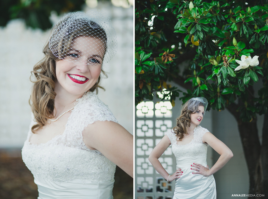 kasey-steffen-boes-bridal-session-downtown-guthrie-wedding-dress-birdcage-veil-retro-vintage-3