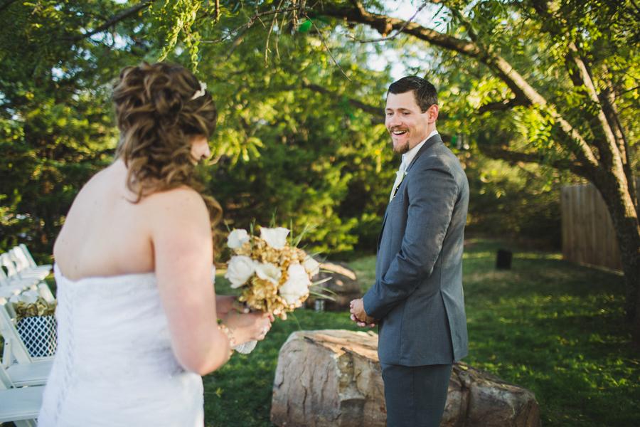 6-walnut-creek-chapel-okc-wedding-photographer-outdoor-first-look-bridget-weingart-kevin-mcgarry