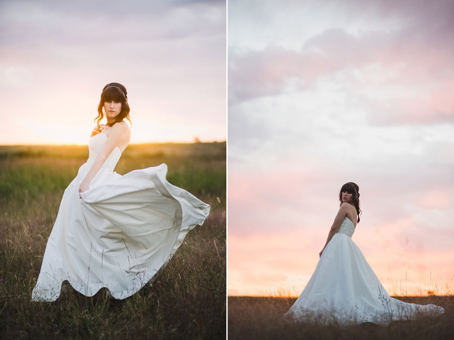 6-okc-edmond-wedding-bridal-photographer-spin-twirl-field-sunset