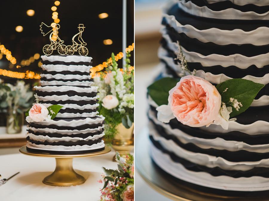 30-wings-edmond-wedding-cake-black-white-stripes-bike-cake-topper