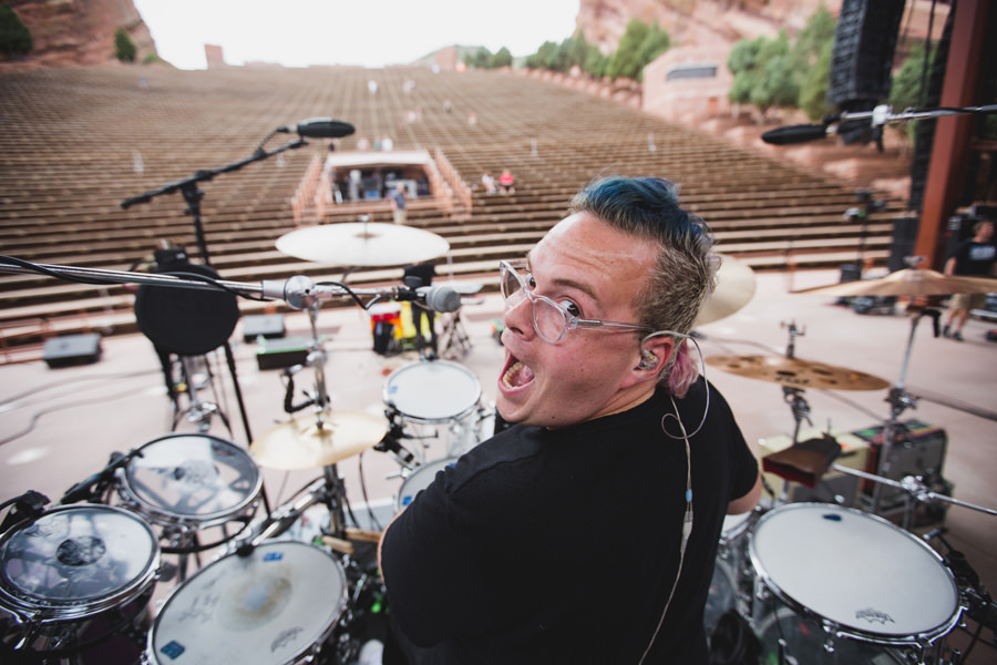 83-walk-the-moon-wtm-tih-tour-red-rocks-CO-sound-check-sean