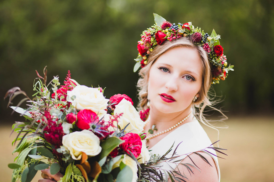 21-harn-homestead-okc-wedding-photographer-bride-flower-crown-fall-bridal-huge-bouquet-los-angeles