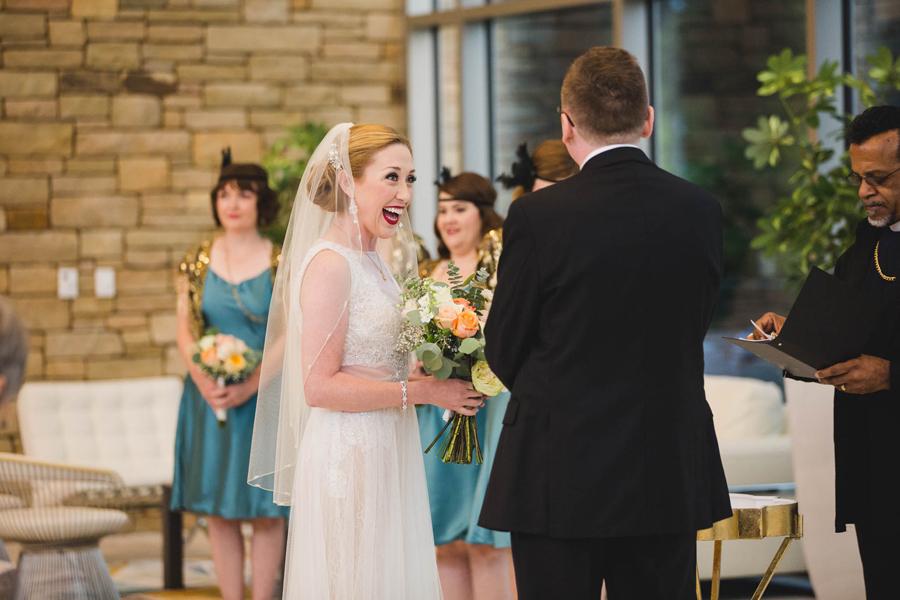 tulsa-oklahoma-wedding-photographer-gilcrease-museum-venue-steve-cluck-joy-jones-13-lobby-ceremony-rain-first-look