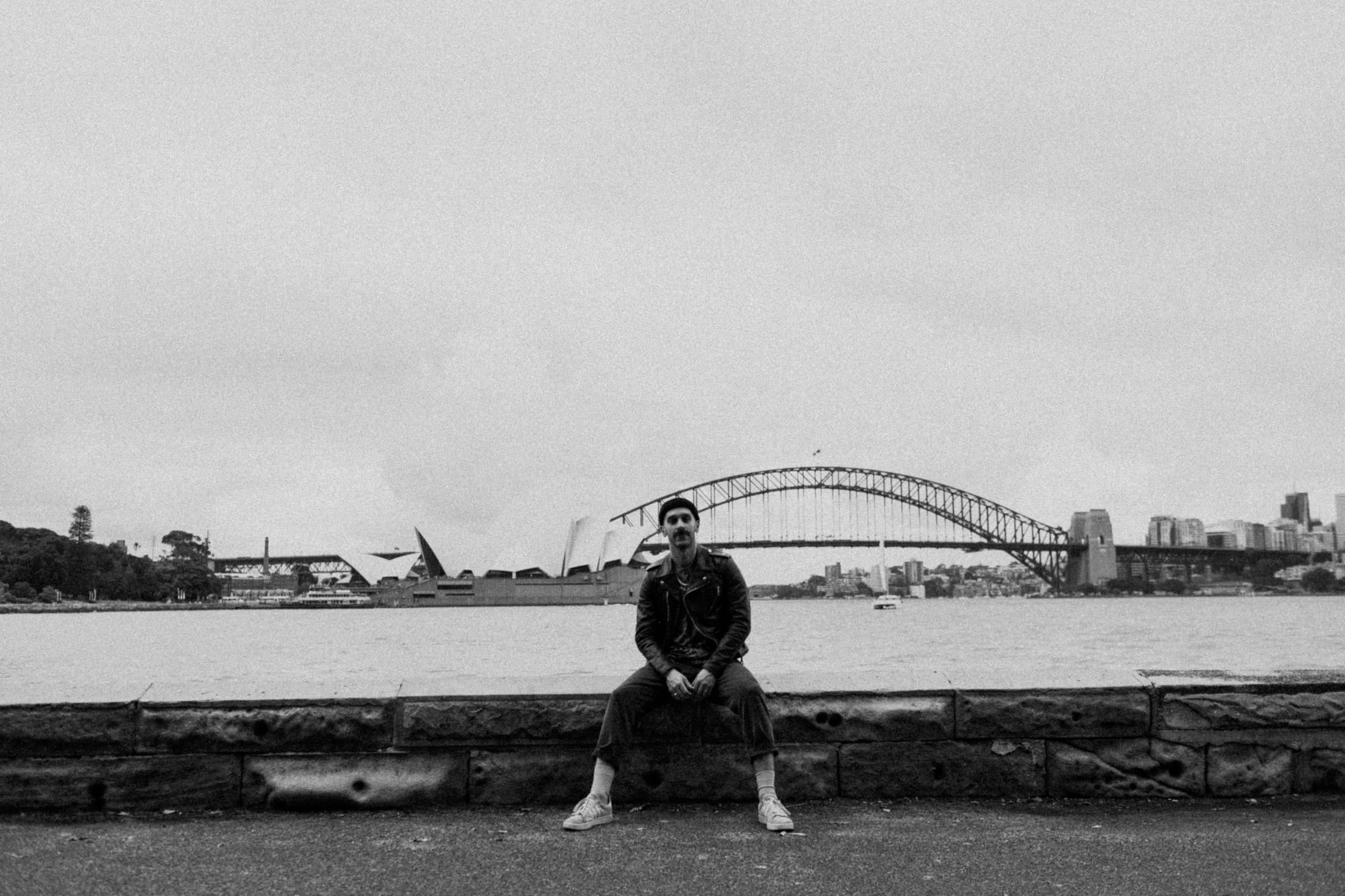 sam-harris-mrs-macquaries-chair-sydney-AnnaLeeMedia