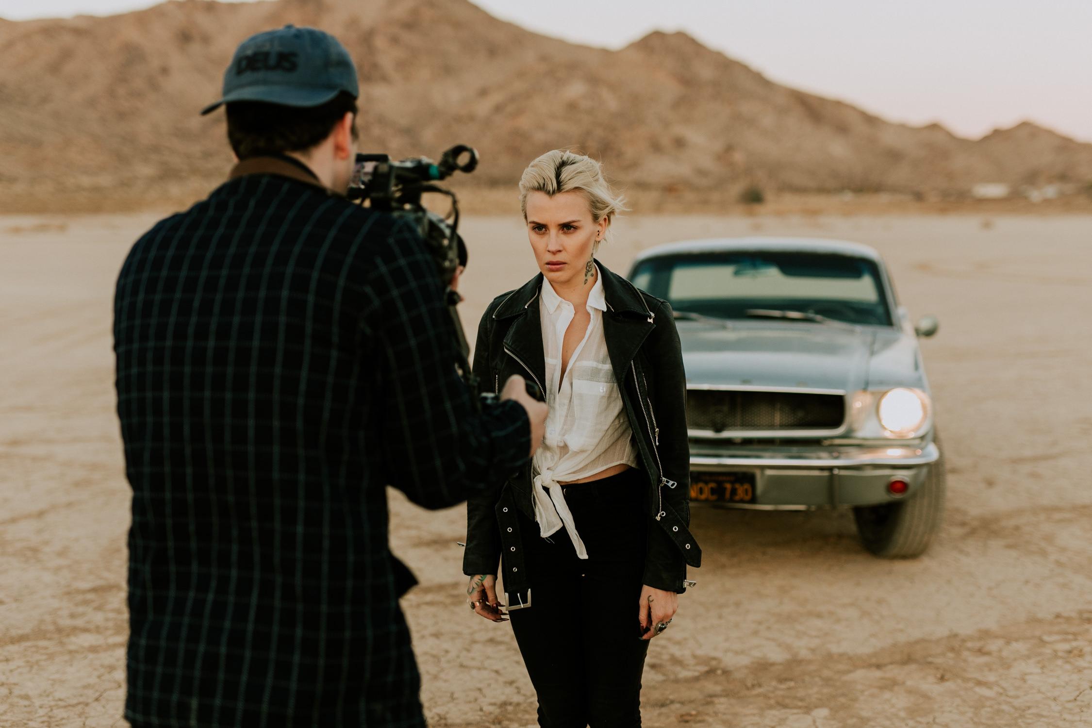 silverstein-music-video-behind-the-scenes-desert-classic-car-AnnaLeeMedia