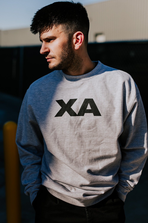 x-ambassadors-merch-XA-crewneck-adam-AnnaLeeMedia